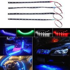 striscia 15 LED auto adesiva impermeabile flessibile per auto tuning moto camion