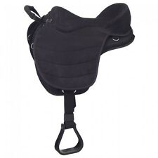 Eclipse by Tough 1® Treeless Endurance Saddle with Western Rigging 17""