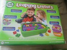 LeapFrog Leaping Letters Race the Clock Game Spelling Words Learning READ