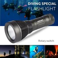 Underwater 5000Lumen XML T6 LED Diving Flashlight Waterproof Torch Light