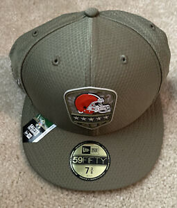 Cleveland Browns New Era Salute to Service Sideline 59FIFTY Fitted Hat 7 3/8