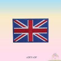United Kingdom Flag UK Embroidered Iron On Patch Sew On Badge