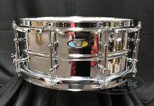 Ludwig Snare Drum Supralite 5.5x14 Steel Beaded Shell w/ Tube Lugs - LW5514SL