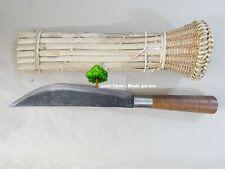TRADITIONAL SCABBARD HOLDER RATTAN WICKER NORTHERN THAI MACHETE KNIFE