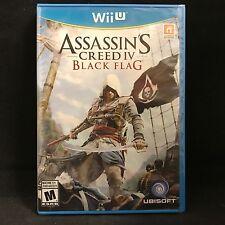 Assassin's Creed IV: Black Flag (Nintendo Wii U, 2013) BRAND NEW