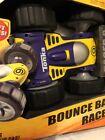 Tonka Hasbro Bounce Back Racer R/C Car Blue/Yellow One Side & Green On Flip Side
