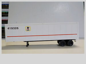 HO Walthers 40' US Mail Truck Trailer #419326