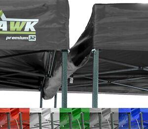 BULHAWK® 3m POP UP GAZEBO ROOF WATERPROOF RAIN WATER GUTTER TO CONNECT 2 GAZEBOS