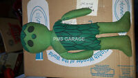 "Vintage Jolly Green Giant Sprout Cloth stuffed doll 70'S Ragdoll 16"" tall"