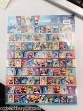 Disney Pixar INSIDE OUT A4 size of  Mini Stickers  QTY  1x Sheet