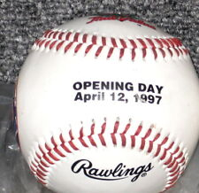 1997 NEW YORK METS OPENING DAY COMMEMORATIVE BASE BALL
