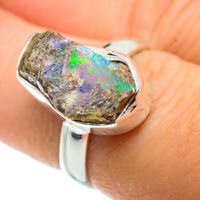 Ethiopian Opal 925 Sterling Silver Ring Size 7 Ana Co Jewelry R41341F