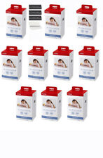 10 Pack Canon SELPHY KP-108IN Color Ink and 4x6 Paper SHIPS FREE TO PR
