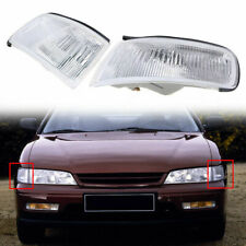 Pair Clear Corner Marker Light Housing fit for Honda Accord 1994 1995 1996 1997