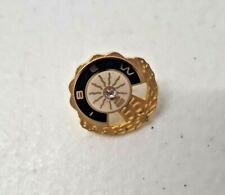Vintage 14GE Gold Diamond IBEW 55 Yr Service Pin Union Electrical Workers 4368