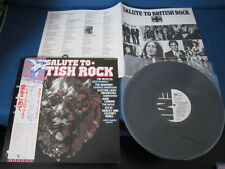 Salute to British Rock Japan Promo Vinyl LP Beatles Lennon ELO Shadows Wizzard