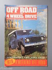 R&L Mag: Off Road & Four Wheel Drive Dec 1987, Bedford KBD 41/Fourtrack Pick Up