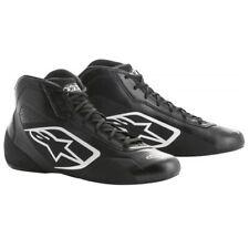 Alpinestars Tech 1-K Start Blanco y Negro Talla 43 Zapatos de Kart Botas