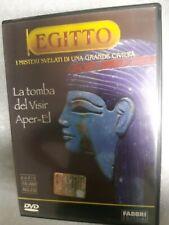 DVD Ancient Egypt The Grave Del Vizier Aper-El Mystery Revealed By Large Civiltà