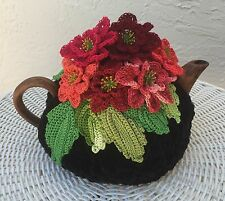 NEW  Handmade Tea Cozy Flaminco Flare From Ukrainian Designer