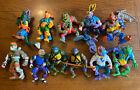 Vintage 1988 1989 TMNT Figures Teenage Mutant Ninja Turtles Lot of 11 Mirage