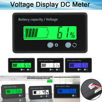 Mini Digital LCD Power Display 8-100V Voltmeter Panel Volt Voltage Meter Tester