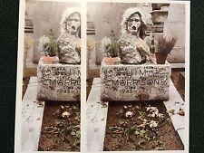 Jim Morrison Gravestone in Paris 2 photo POSTCARDS Photo by Lisa Haun