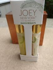 Joey New York QUICK RESULTS Eye Duo: Young Coconut Gel & Night Cream .5 oz ea