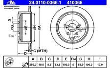 Nuevo Mintex Delantero Discos De Freno Ventilados Set Par-MDC804