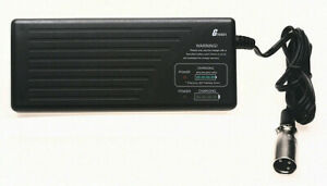 24v VRLA INTELLIGENT GOLF BATTERY CHARGER 3A - 3 PIN XLR CONNECTOR - LED DISPLAY
