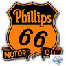 """PHILLIPS 66 MOTOR OIL VINTAGE 6"""" DECAL AMERICANA RRP £12 FREE DELIVERY"""