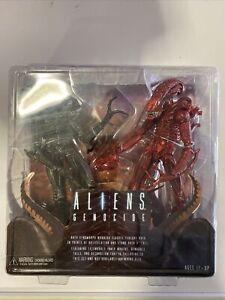 Neca Aliens Genocide Xenomorphs Action Figure Double Pack - Genuine