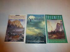 Lot of 3 Yosemite Magazine Past Issues,1992 & 1993, Yosemite Photographers Gu232