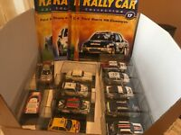 DeAGOSTINI RALLY CAR COLLECTION-Various Models & Magazines Available