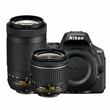 Nikon D5500 Kit w/AF-P DX 18-55mm G VR & AF-P DX 70-300mm G ED *NEW*