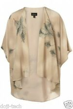 Topshop Premium Piuma Cascata Kimono Cardigan Vintage Giacca Cape Top 8 10 12 S