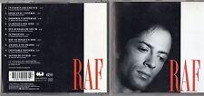 RAF canta in SPAGNOLO raro CD Made in GERMANY fuori catalogo 1992 WARNER SPAIN