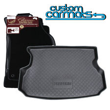 TO FIT: Toyota Landcruiser 80 Series, Tailored Car mats + Boot/Cargo Liner COMBO