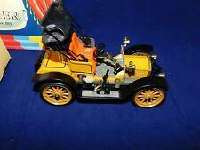 Schuco OPEL DOCTOR WAGON OLDTIMER Tin Toy Wind-Up Car #1228 MIB`85 YELLOW! RARE!