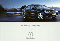 Mercedes C Klasse Prospekt 5/05 brochure 2005 C 280 55 AMG 230 Auto