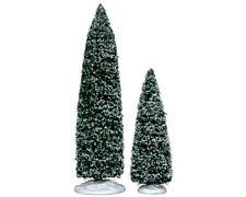 Lemax Bäume 2er Set Weihnachtsdorf Baum Dekobaum Fichte Tanne Weihnacht 34664