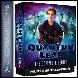 QUANTUM LEAP COMPLETE SERIES SEASONS 1 2 3 4 5   BRAND NEW R1 DVD BOXSET