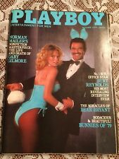 Playboy Magazine October 1979 - Burt Reynolds, Bunnies of 1979