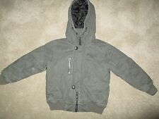Boys Next Khaki Hooded Coat Age 4