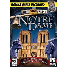 Hidden Mysteries Notre Dame Secrets Of Paris PC Games Windows 10 8 7 XP Computer