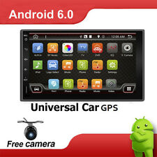 GPS Navi Double 2DIN Android 6.0  Car Auto Stereo WIFI 3G Bluetooth Radio AUX FM