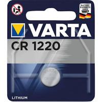 1x Varta CR 1220 CR1220 3V Lithium Batterie Knopfzelle (Blister)