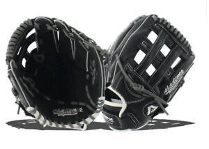 Akadema AJT99 Rookie Series Baseball Glove RHT Black/Grey
