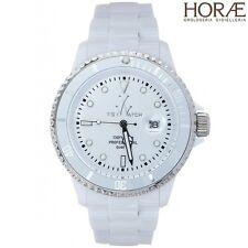 Orologio unisex TOY WATCH collezione Fluo Plasteramic bianco FL24WH Datario 40mm