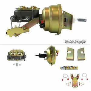 "1963-66 Chevy Truck Firewall Mount Power 9"" Single Brake Booster Kit Disc/Disc"